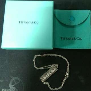 Tiffany純銀項鍊 時間系列