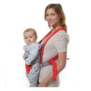 Red Baby Carrier