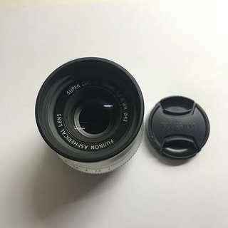Fujinon XF 35mm f2 Silver