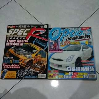 Option & Spec R magazine