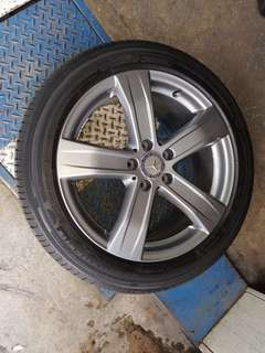 "4x Michelin Tyre + Rim 18"" inch for Mercedes S class"