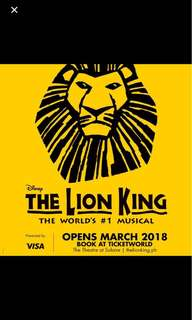 Looking For Lion King The Musical tickets