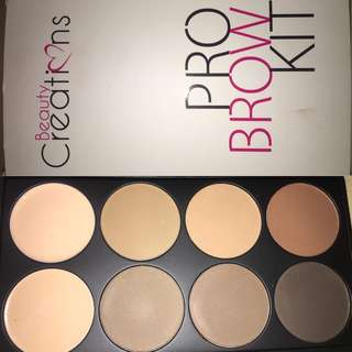 Beauty Creations Eyebrow Kit