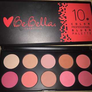 BeBella Cosmetics Blush Palette