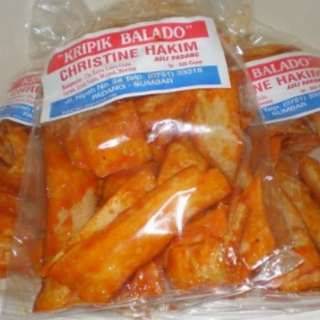 Kripik Padang Chips ( Hot Sweet Chili ) ALL FLAVOUR Brand Christine Hakim