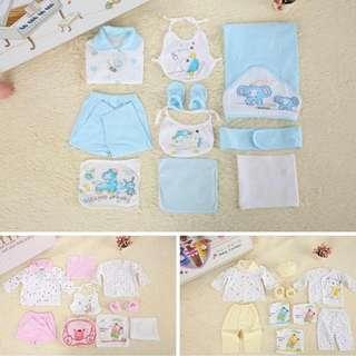 Baby shirt gift set 10in1