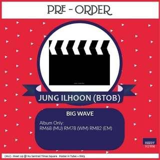 (PRE-ORDER) JUNG ILHOON (BTOB) - BIG WAVE