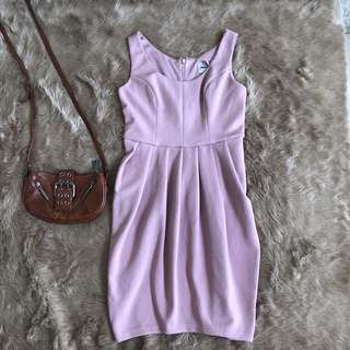old rose bodycon dress