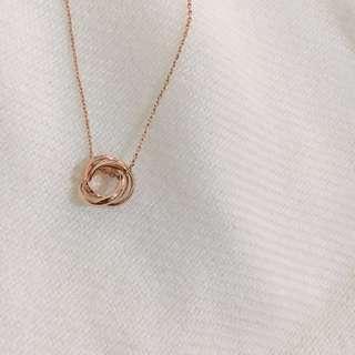 全新💫 圓環 項鍊 頸鏈