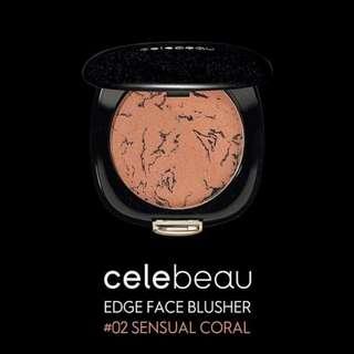 Celebeau Edge Face Blusher #02 Coral