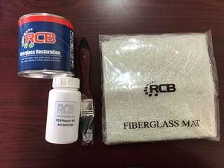 Rcb fiberglass kit