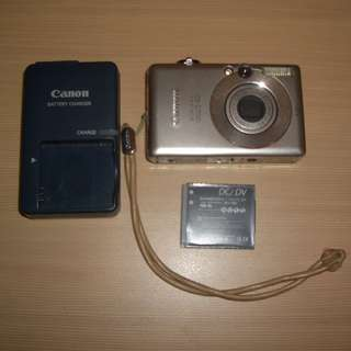 ★★★ Canon IXUS 40 數碼相機 DC【 Made In Japan 日本製 】 連 NB-4L 鋰電池 及 原装 CB-2LVE 充電器 《圖 1~3》 ★★★