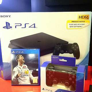 kredit PS4 slim 500 Gb Fifa18 Bundling+ GS4Tanpa Kartu Kredit