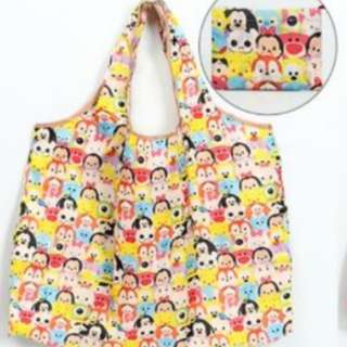 Cute Recycle/shopping bag (mickey/tsum trim and many more)