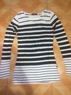C2 Striped Long Sleeves Shirt