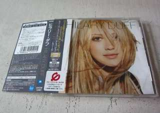 CD: Hilary Duff - Self-Titled Japanese Edition