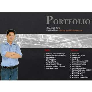 Design and Concept services (Architectural for 2D Drafting & 3D presentation )