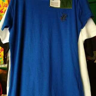 Branded overruns t shirt