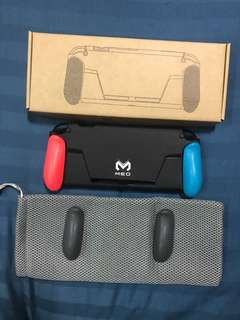 Meo grip case for nintendo switch