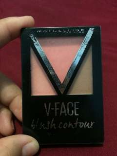 V-FACE blush contour