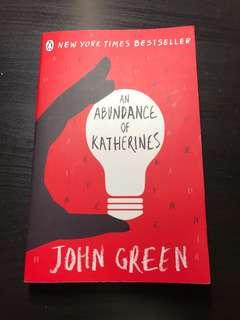 John Green - An abundance of Katherines