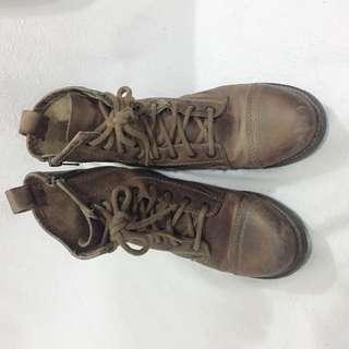 復古短boot