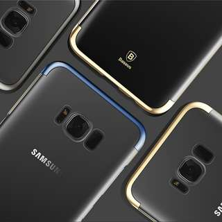 Samsung Galaxy S8 Plus Hard Case (Gold/Blue/Black)