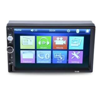 7010B Universal 7 Inch 2 DIN Car Audio Stereo Player Touch Screen Car Video MP5 Player Support Bluetooth TF SD MMC USB FM Radio