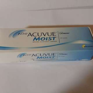 One Day Acuvue Moist 隱形眼鏡 25pcs