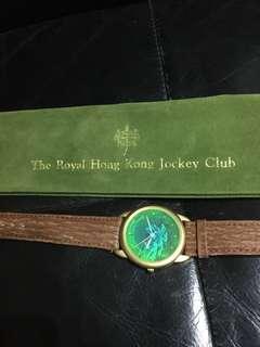 1997前回歸之'英皇御准香港賽馬會'紀念3D立動動感手錶