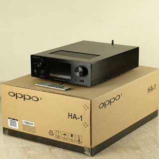 OPPO Digital HA-1 Headphone Amplifier DAC black