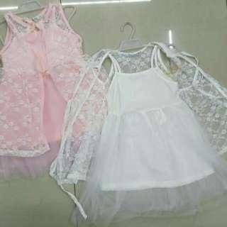 SANDO DRESS 1-4years old