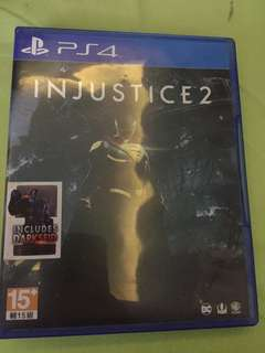 "Game PS 4 ""Injustice 2"""