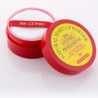 3W CLINIC Natural Make-Up Powder Made in Korea 30g. #21
