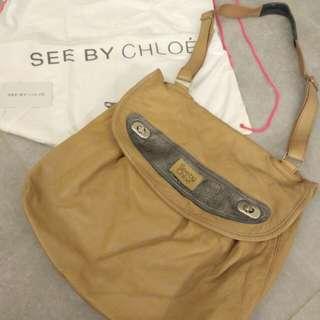 See by Chloe messenger handbag