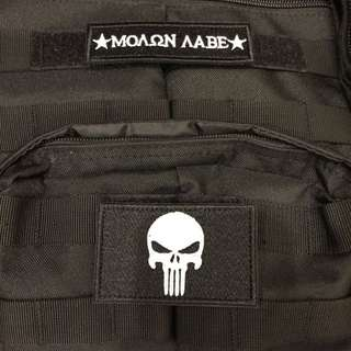 THE PUNISHER velcro morale patch