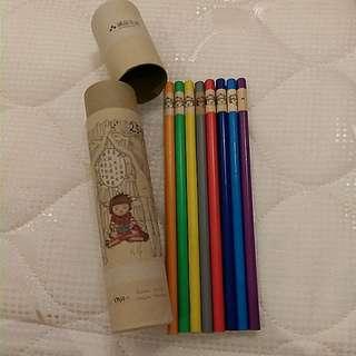 (含運)全新誠品25週年紀念色鉛筆