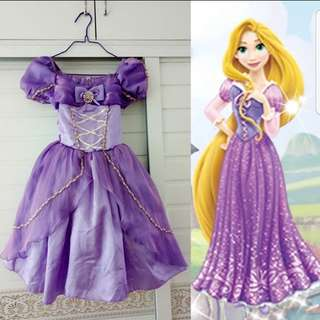 Rapunzel Princess Costume