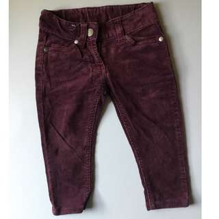 CORDUROY LONG PANT