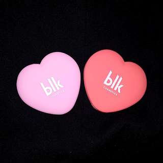 blk Cosmetics Valentine's Limited Edition Heart Shaped Mirror