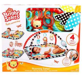 Baby toy roaming safari activity gym baby shower