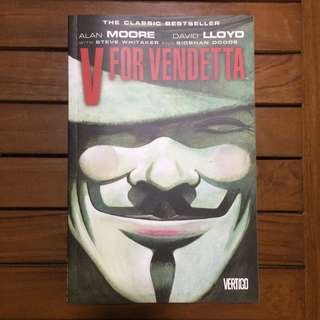 V for Vendetta Vertigo