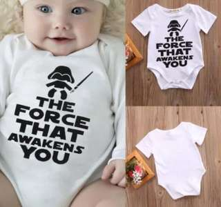 P/O star wars theme baby romper