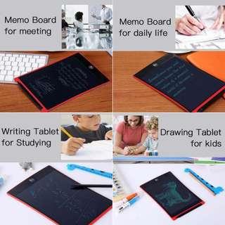 12 吋 兒童畫板 電子畫板 手寫記事 LCD Writing Tablet Digital Drawing Tablet Handwriting Pads Portable Electronic Tablet