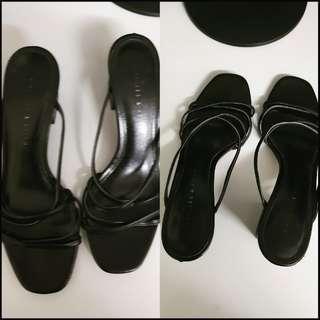 charles and keith block heels