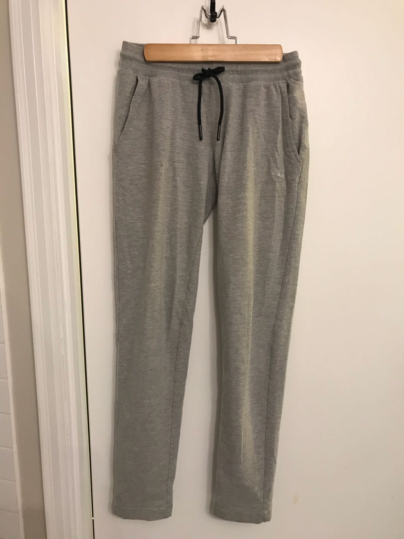 Adidas Heather Grey Pants - Size Small