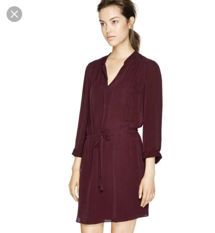 Aritzia silk dress- xs