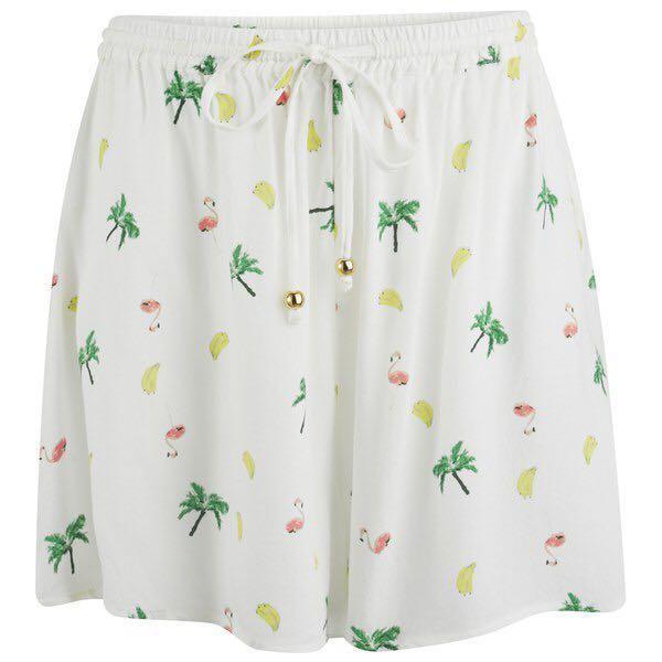 AU S/10 Minkpink Flamingo Fruit Shorts