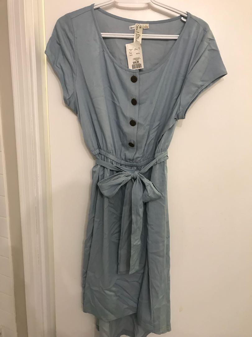 Blue Dress - Size Large
