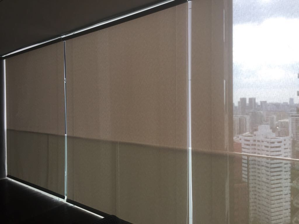 Curtains, Blinds, Invisible Grilles